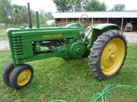 1946 John deere B electric start, original 6volt