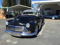 1946 Oldsmobile Series 66 Info: Motor is a 455