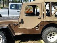 I have a willys jeep runs and drives good it does need