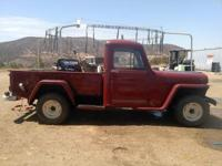 1946 Willys pickup truck (1st year civilian model after