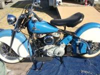 1946 Indian Chief Motorcycle 1200cc Flathead - 3-Speed