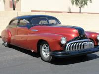 This 1947 Buick Roadmaster is loaded with features and