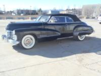 1947 Cadillac 62 Convertible ..Last Year for this