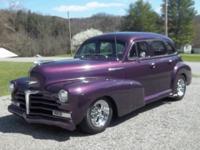 Absolutely beautiful 1947 Chevy Fleet Master Street Rod