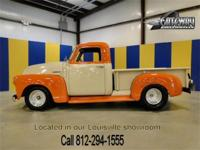 1947 Chevrolet Thriftmaster pickup was completed in