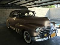 1947 CHEVROLET 2-DR STYLMASTER COUPE. -ONE OF THE