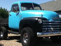 1947 Chevy 5 window New 350 engine 400 auto