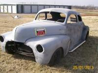 1947 chevy coupe must see and hear!  350
