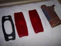 1947 Chevy Glass Tail Light Lenses New $15.00pr,