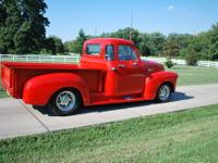 UP FOR SALE IS A TOTALLY RESTORED 1947 CHEVY WITH NEW