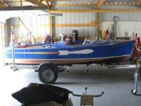 This is a documented original 1947 Chris Craft 16