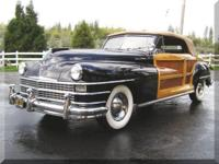 1947 Chrysler Town & Country Convertible Beautiful