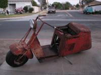 For Sale is this 1947 Cushman Scooter this is an actual
