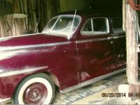 1947 Dodge Custom Sedan for sale (PA) - $6,000 REDUCED