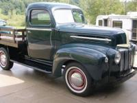 1947 Ford 1/2 ton Flatbed truck Fresh restored frame