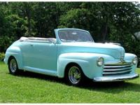You are looking at a gorgeous 1947 Ford Convertible