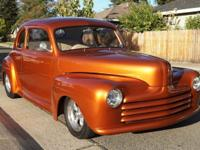 1947 Ford Coupe Street Rod Chevy. 468 Chevrolet Big