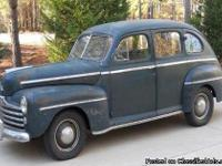 Make:  Ford Year:  1947 Model: