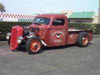 Traditional Hot Rod Built With All Old School Steel.