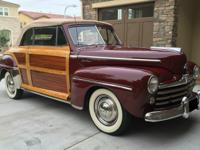 1947 Ford Sportsman Wood. Vehicle Condition: Chrome is