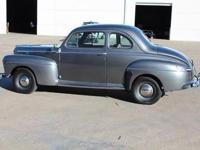 Beautiful Custom 1947 Ford Super Deluxe Coupe! This 5