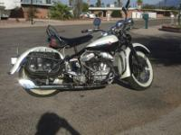 1947 Harley Davidson 45 flathead with only 1133 miles