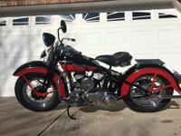 Starts easily and drives very well. Make: Harley