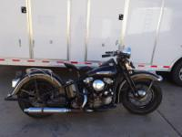 1947 Harley Knucklehead. Bought from an old Harley