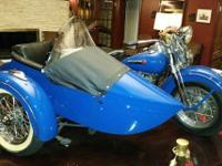 1947 Harley Davidson WLD w/ Sidecar (WI) - $30,000
