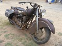 Barn discover indian chief 1947. wheel bearing have