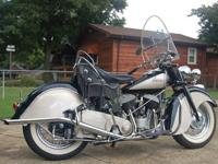 1947 Indian Chief Motorcycle. If you are in the