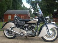 1947 Indian Chief Motorcycle. I doubt you will find one