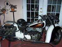 1947 Indian Chief. This bike is a great rider and runs