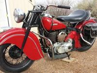 1947 Indian Chief Motorcycle RedHere are a list of the