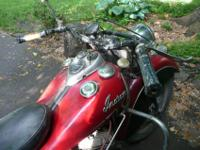 Real Deal Barn Find 1947 Indian Chief ('47 engine) in a