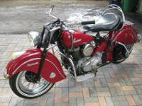^ ^ ^ -1947 Indian Chief Roadmaster. The bike has