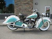 1947 Indian Chief, Incredible Vintage Chief - Fresh