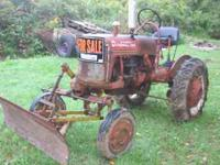 1947 international farmall cub front plow blade that