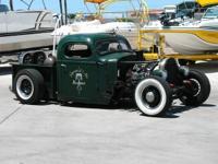 1947 International Rat Rod Pickup - Built Right!