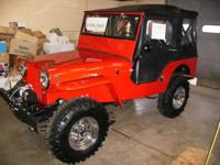 1947 Jeep Willys 4X4 This show quality Jeep classic has
