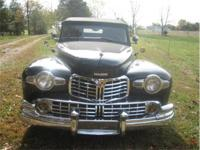 This 1947 Lincoln Continental two door Cabriolet with