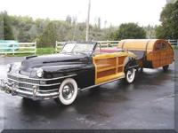 1947 Car Cabin 13foot Trailer As rare as they come...1