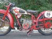 1947 Moto Guzzi Astorino. It is a 250cc 4 stroke,