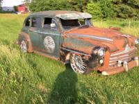1947 Oldsmobile Custom Cruiser Ratrod Gorgeous Patina