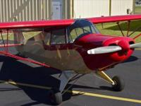 1947 Piper Super Cruiser PA-12-2676 Lycoming O-235C