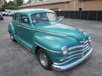 1947 Plymouth 360 mopar v8, automatic, sub framed,