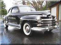 1947 Plymouth Special Deluxe 2dr Club Coupe Beautiful