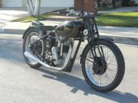 ~~~~1947 Velocette KSS which is an extremely rare and