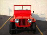 Awesome Antique 1947 Willys CJ 2A Jeep in spectacular