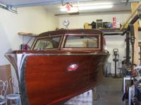 Beautifully returned classic mahogany sedan with